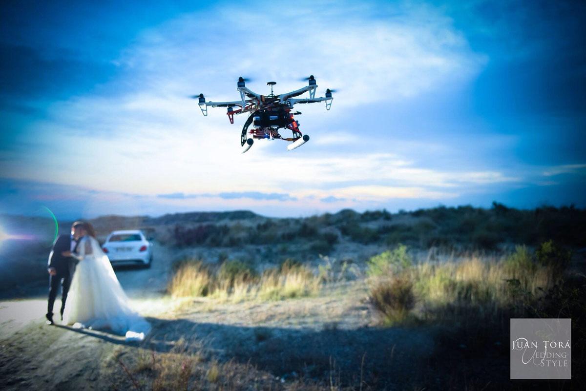 Drone para bodas
